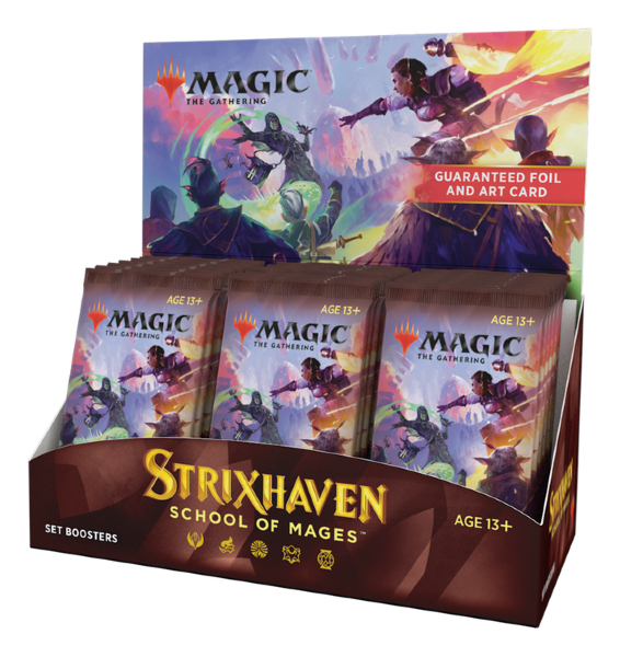 Magic the Gathering: Strixhaven Set Display (30 boosters)