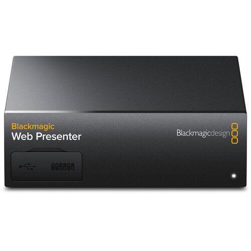 Blackmagic - Web Presenter
