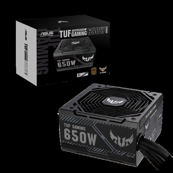 ASUS TUF Gaming / 650W / Bronze - Svart