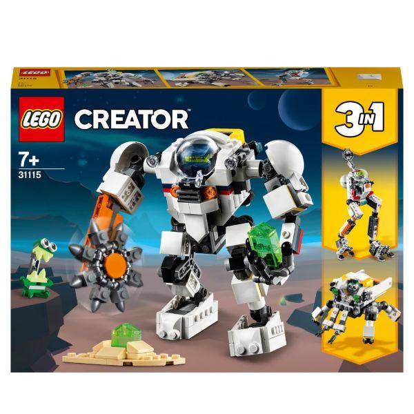 LEGO Creator Rymdgruvrobot 31115