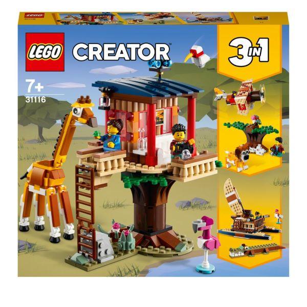LEGO Creator Safariträdkoja 31116