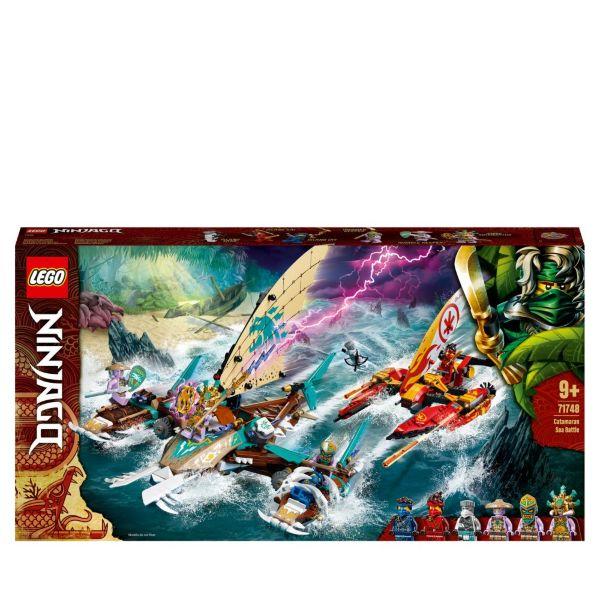 LEGO Ninjago Havsstrid med katamaran 71748