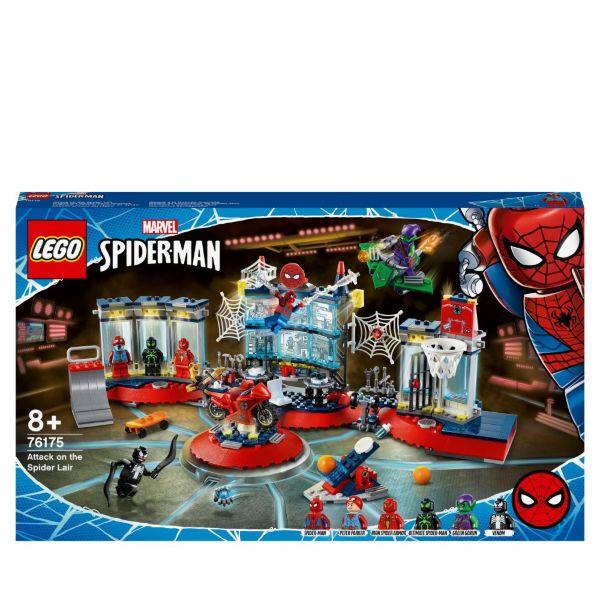 LEGO Super Heroes Attacken mot spindeltillhållet 76175