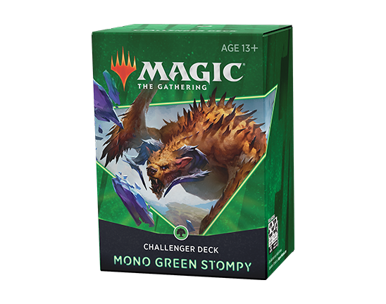 Magic The Gathering Challenger Deck 2021 - Mono Green Stompy