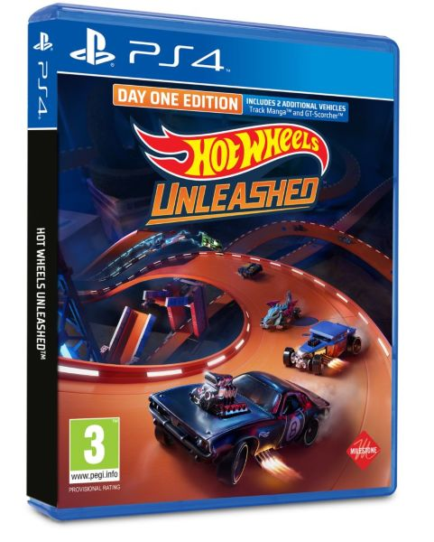Hot Wheels Unleashed (Day One Edition) (PS4)