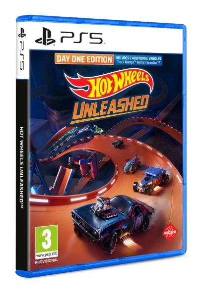 Hot Wheels Unleashed (Day One Edition) (PS5)