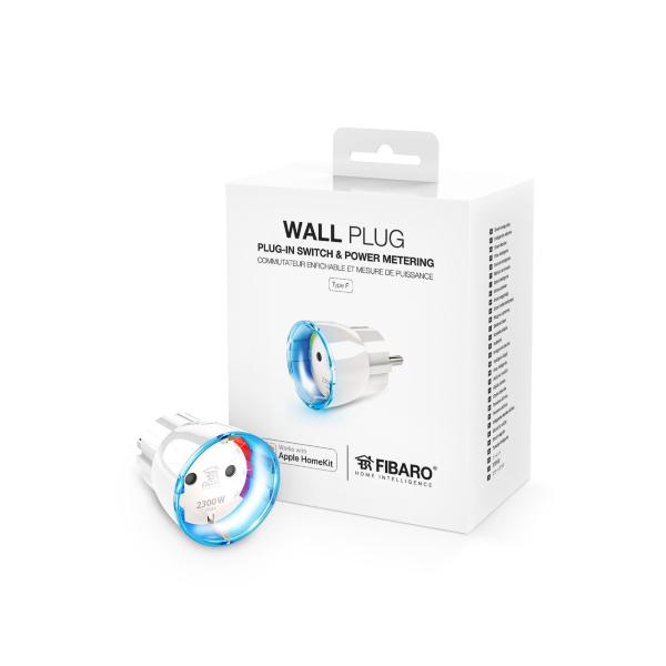 Fibaro Wall Plug / Apple HomeKit (Fyndvara - Klass 3)