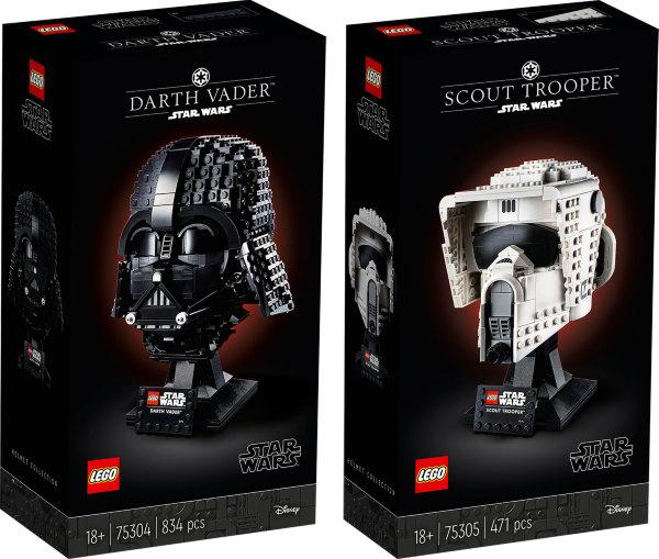 LEGO Star Wars The Dark Side Helmet Bundle (2-pack)