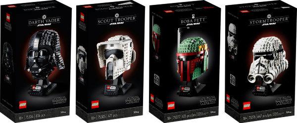 LEGO Star Wars Helmet Bundle (4-pack)