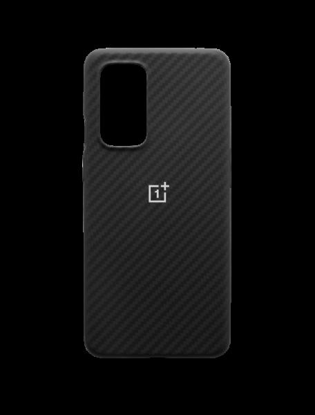 OnePlus 9 Karbon Bumper Case - Svart