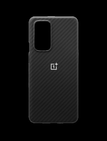 OnePlus 9 Pro Karbon Bumper Case - Svart