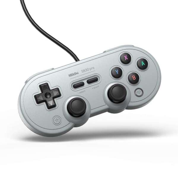 8Bitdo SN30 Pro USB Gamepad Gray Edition