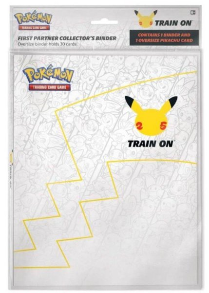 Pokemon 25th Anniversary Oversize Card Samlarpärm