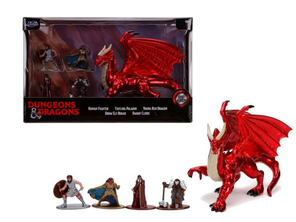 Dungeons & Dragons 5-Pack Deluxe Nanofigs