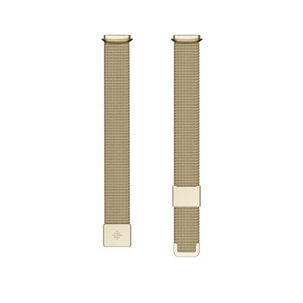 Fitbit Luxe / Metal Mesh/Soft Gold - One Size