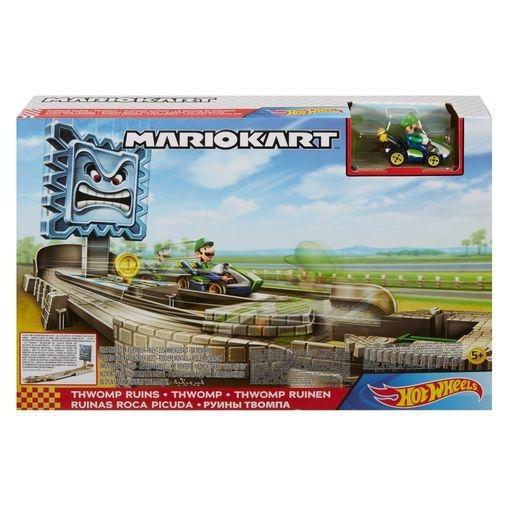 Hot Wheels Mario Kart: Thwomp Ruins Track Set