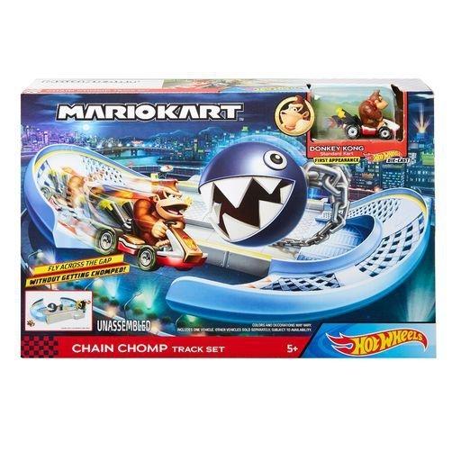 Hot Wheels Mario Kart: Chain Chomp Track Set