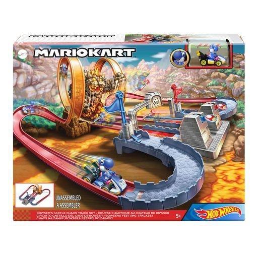 Hot Wheels Mario Kart: Bowsers Castle Chaos