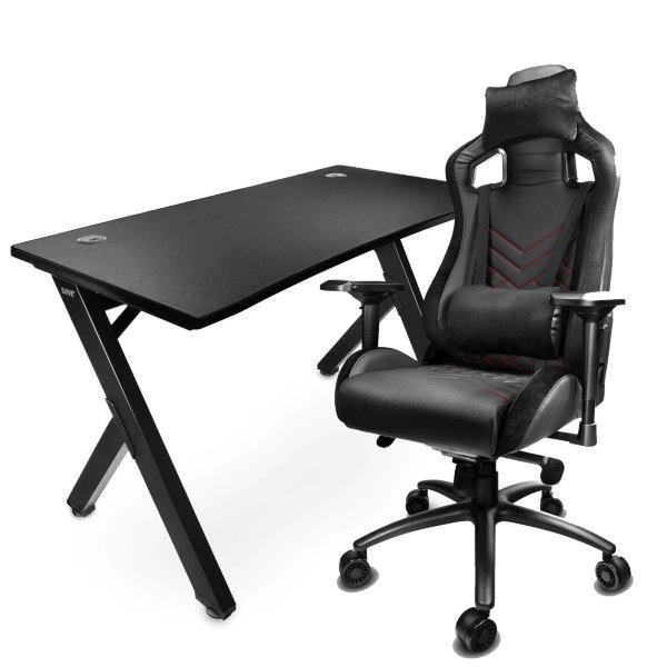 Svive Cygnus Gaming Desk + Izar Gaming Chair
