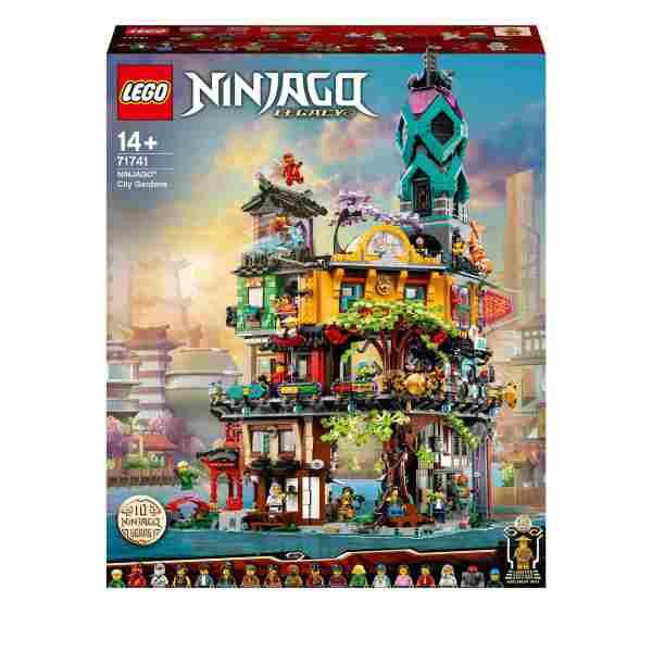 LEGO Ninjago Citys trädgårdar 71741