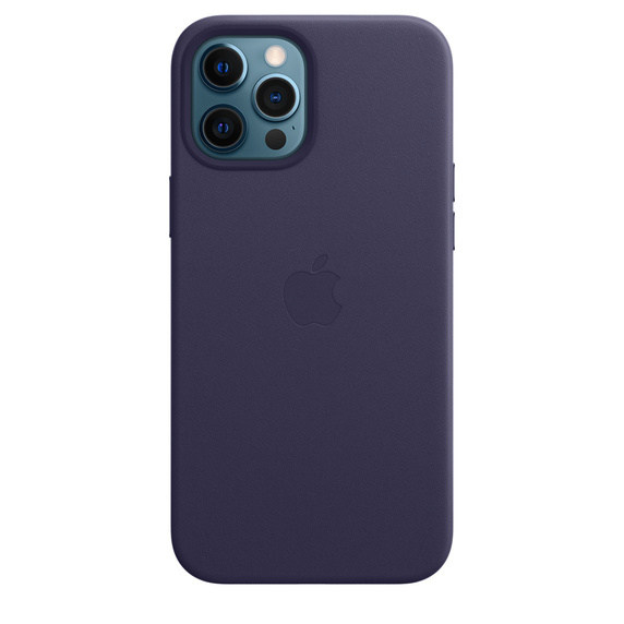 Apple iPhone 12 Pro Max Leather Case / MagSafe - Deep Violet