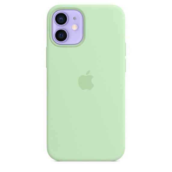 Apple iPhone 12 mini Silicone Case / MagSafe - Pistachio