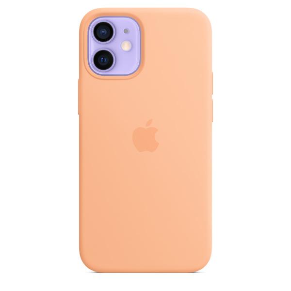 Apple iPhone 12 mini Silicone Case / MagSafe - Cantaloupe