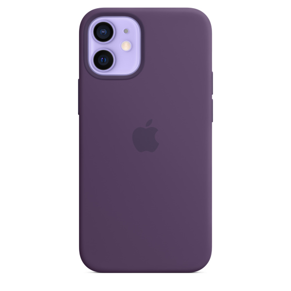 Apple iPhone 12 mini Silicone Case / MagSafe - Amethyst