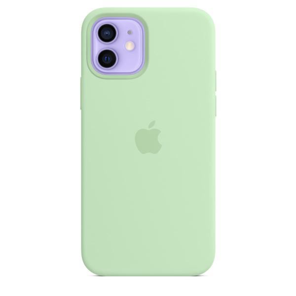 Apple iPhone 12 / 12 Pro Silicone Case / MagSafe - Pistachio