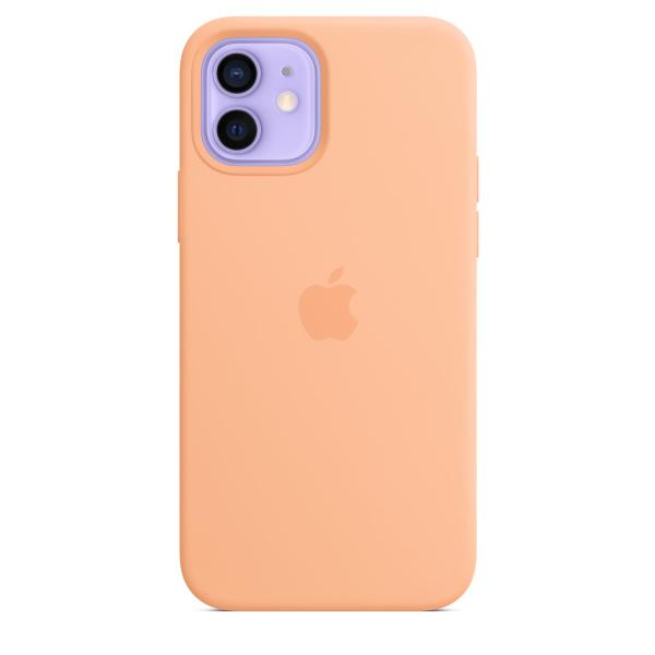Apple iPhone 12 / 12 Pro Silicone Case / MagSafe - Cantaloupe