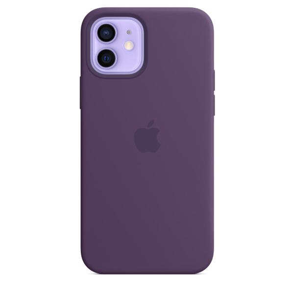 Apple iPhone 12 / 12 Pro Silicone Case / MagSafe - Amethyst