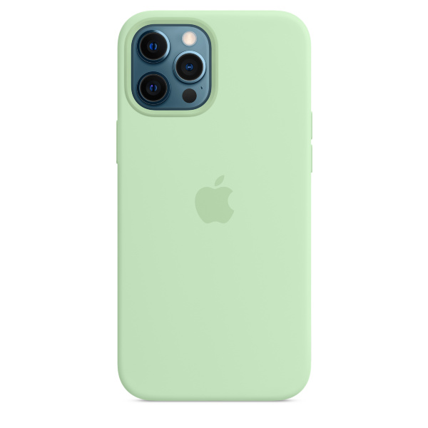 Apple iPhone 12 Pro Max Silicone Case / MagSafe - Pistachio