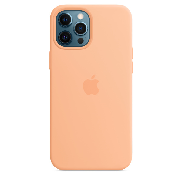 Apple iPhone 12 Pro Max Silicone Case / MagSafe - Cantaloupe