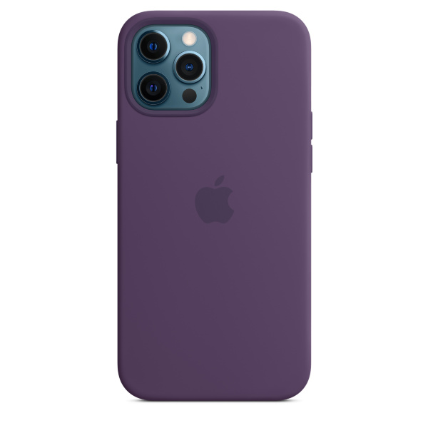 Apple iPhone 12 Pro Max Silicone Case / MagSafe - Amethyst