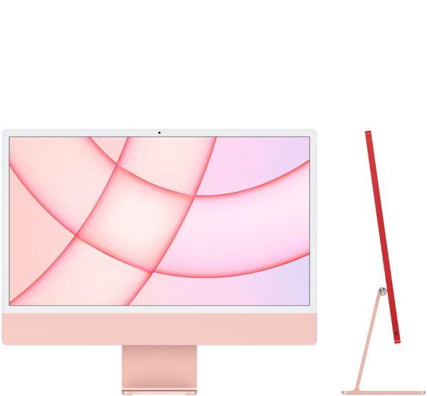"Apple 24"" iMac / Retina 4.5K / Apple M1chip / 8-core CPU / 8-core GPU / 512GB - Pink"