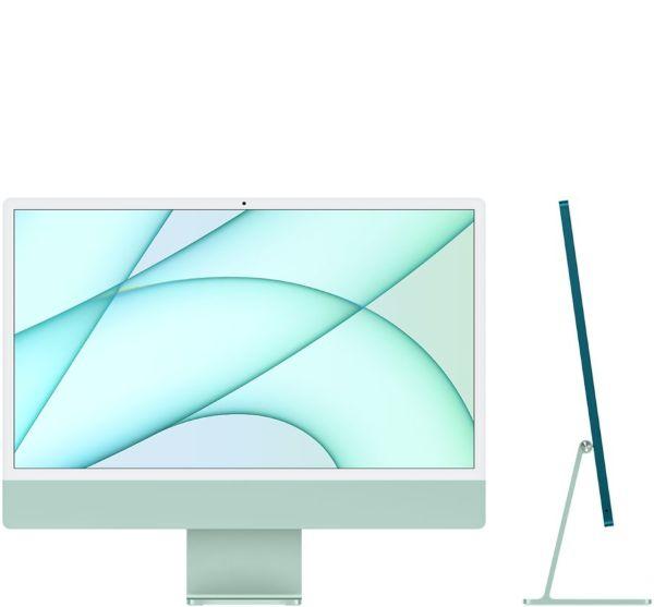 """Apple 24"""" iMac / Retina 4.5K / Apple M1chip / 8-core CPU / 7-core GPU / 256GB - Green"""