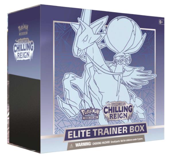 Pokemon Sword & Shield 6: Chilling Reign Elite Trainer Box