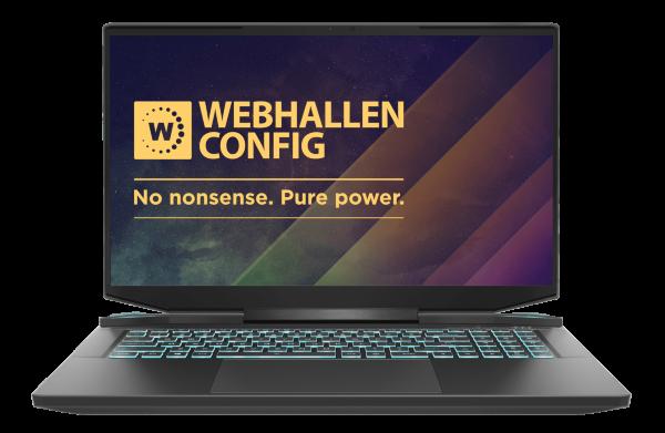 "Webhallen Config L21-0201 / 17,3"" / QHD / IPS / 165Hz / R9 5900HX / 32GB / 1TB / RTX 3080 / Win 10"