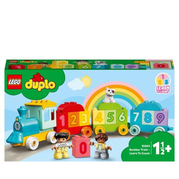 LEGO DUPLO My First Siffertåg – Lär dig räkna 10954