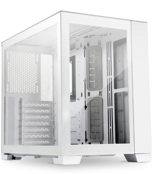 Lian Li PC-O11 Dynamic MINI / Tempered Glass - Snow Edition