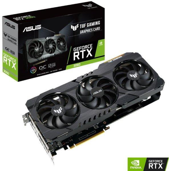 ASUS TUF GeForce RTX 3060 OC 12GB V2