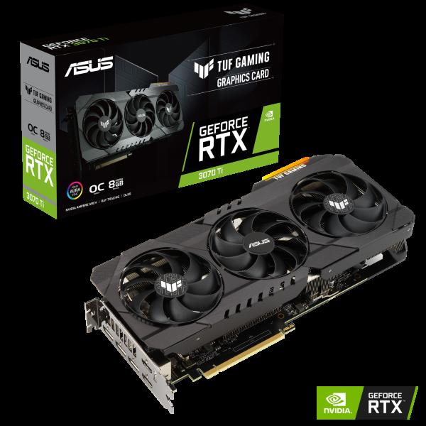 ASUS TUF GeForce RTX 3070 Ti OC Gaming 8GB