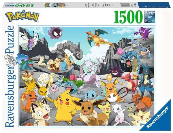 Pokémon Classics Pussel (1500-bitar)