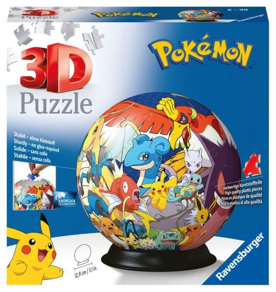 Pokémon 3D Pussel - Motivboll (72-bitar)
