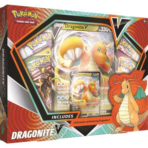 Pokemon Dragonite Vmax-box
