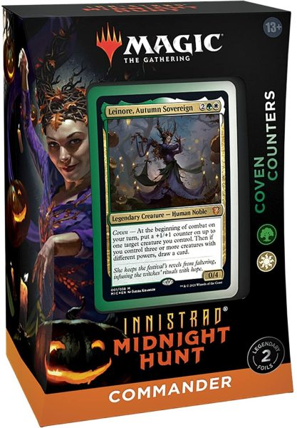 Magic the Gathering: Innistrad Midnight Hunt Commander Deck - Coven Counters