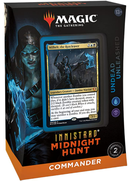 Magic the Gathering: Innistrad Midnight Hunt Commander Deck - Undead Unleashed
