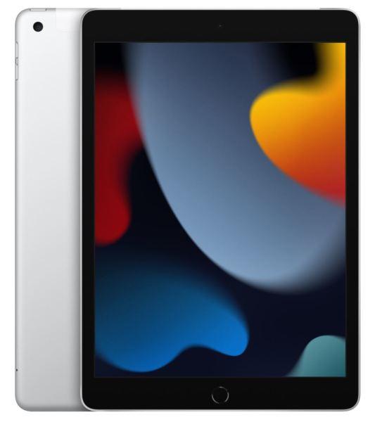 """Apple iPad 9th gen. / 10.2"""" / 256GB / WiFi / Cellular - Silver"""