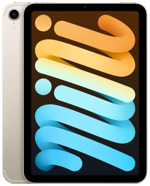 """Apple iPad Mini 6th gen. / 8.3"""" / 256GB / WiFi / Cellular - Starlight"""