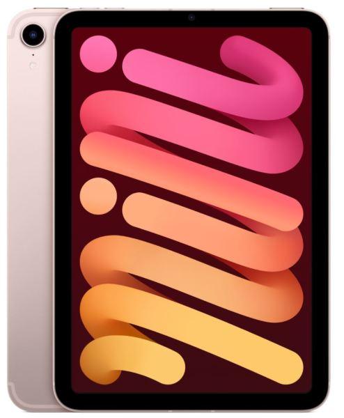 """Apple iPad Mini 6th gen. / 8.3"""" / 256GB / WiFi / Cellular - Pink"""